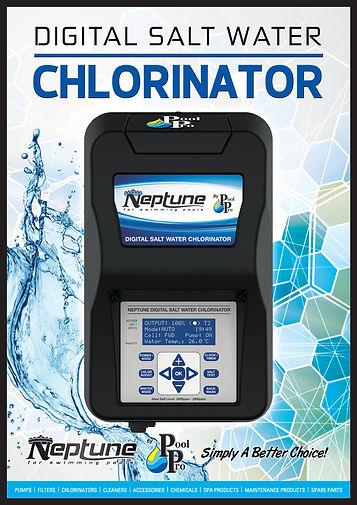 Neptune Digital Chlorinator A4 Flyer 201