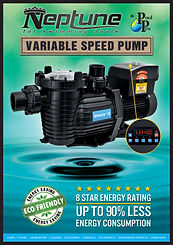 Neptune variable speed swimming pool pump