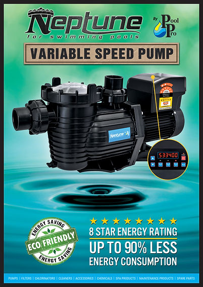 Neptune variable speed swimming pool pump