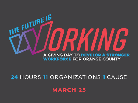 """KHERUT PARTNERS WITH ORANGE COUNTY COMMUNITY FOUNDATION FOR """"THE FUTURE IS WORKING"""" GIVING DAY"""
