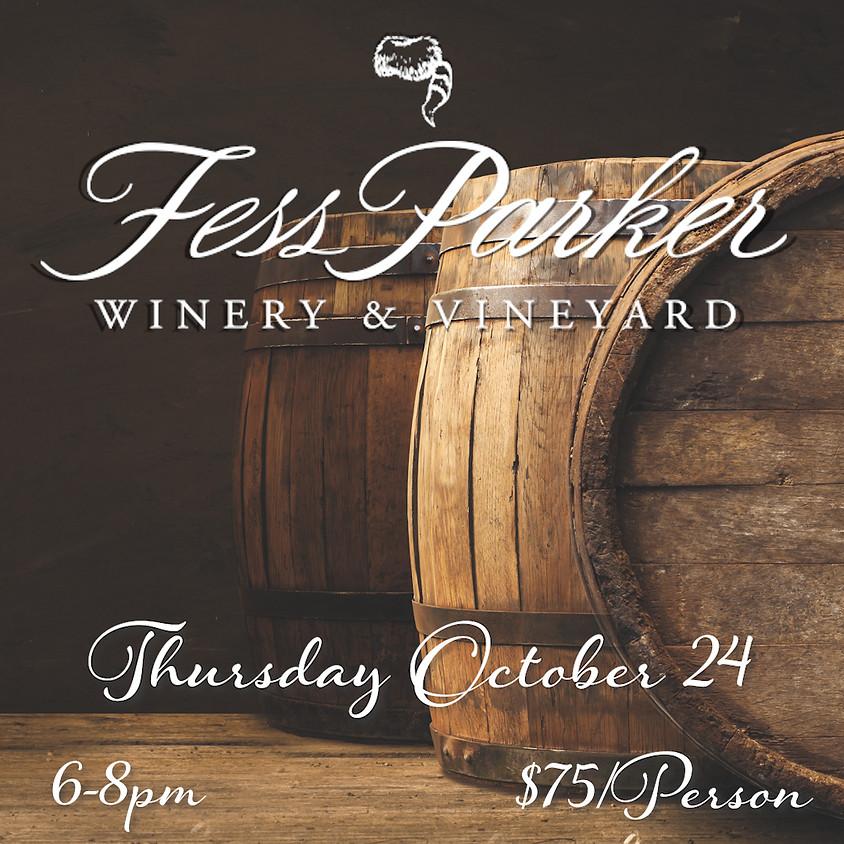 Fess Parker Wine Tasting