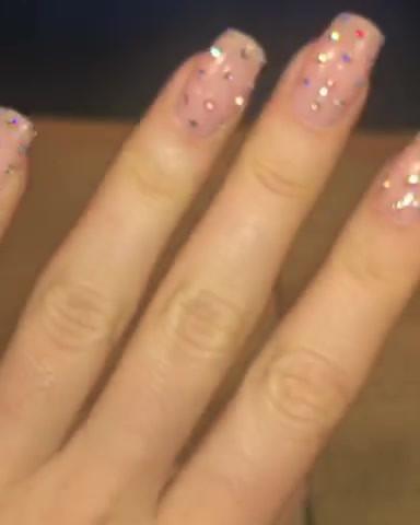 Crystal Gel Nails