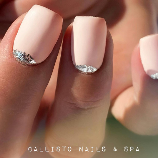 GEL nails with Luxio on top