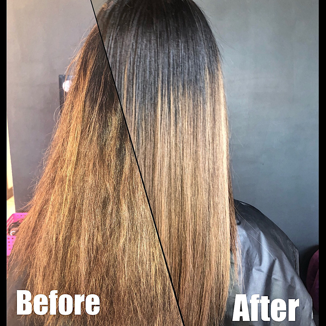 Before and After Botox for Hair