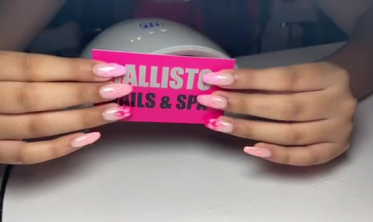 New set of gel extension with designs