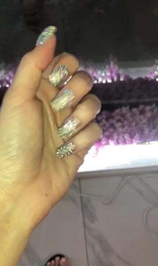 Swarovski Nails