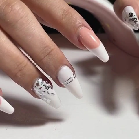 Gel refill with designs