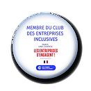 Badge membre du Club des entreprises inc