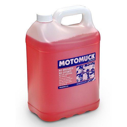 MOTOMUCK CLEANER 5L CONTAINER BIKE WASH