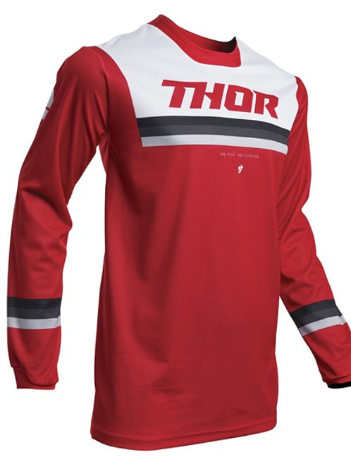 Thor Pulse S20 Pinner Jersey Red White