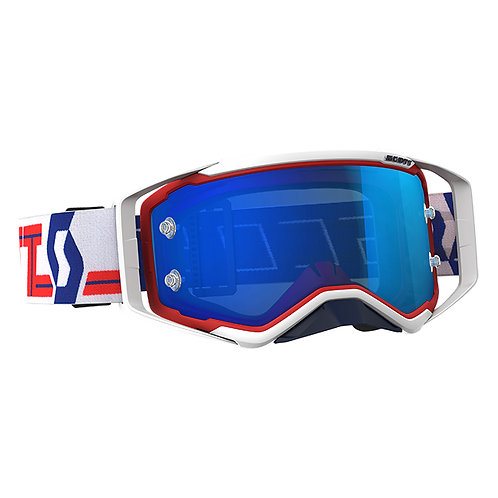 SCOTT Prospect Goggle Red/White Electic blue Works Lens