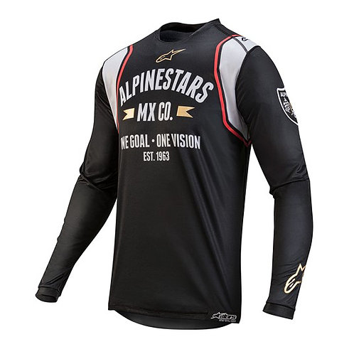 Alpinestars Racer Tech Battle Born MEC LE Jersey Black/Silver/Gold
