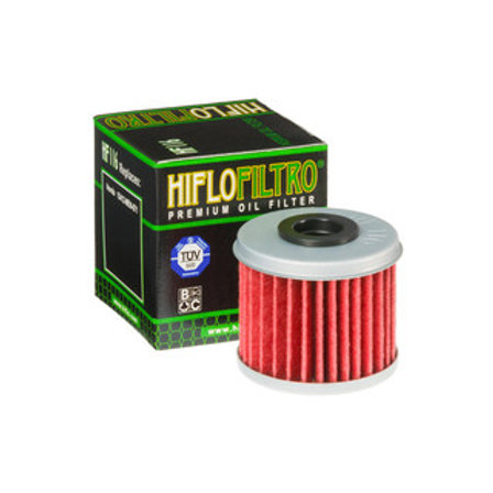 HIFLO HF116 HONDA CRF 150/250/450 HUSQVARNA TC/TE OIL FILTER