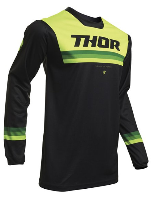 Thor Pulse S20 Pinner Jersey Black Acid