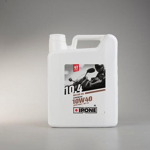 IPONE - 10.4 10W40 SEMI SYNTHETIC 4 Stroke Oil (4L)