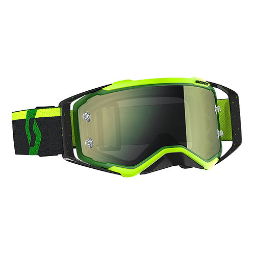 SCOTT Prospect Goggle Green/Black Yellow Chrome Works Lens