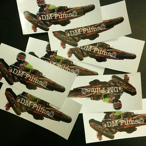 DM FILMS STICKERS DONATIONS