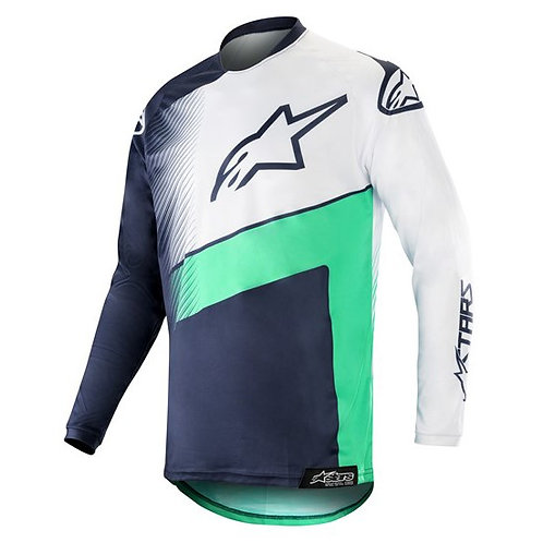 ALPINESTARS Racer Supermatic Jersey Dark Navy/Teal/White