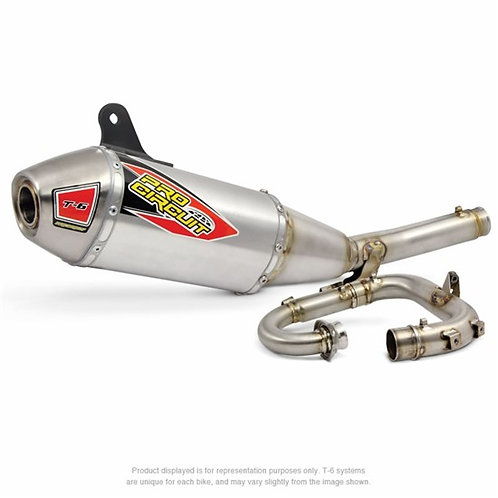 PRO CIRCUIT T-6 Stainless System YZF250 17-18