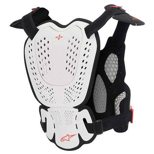 ALPINESTAR A-1 Roost Guard White/Black - Engineered for BNS