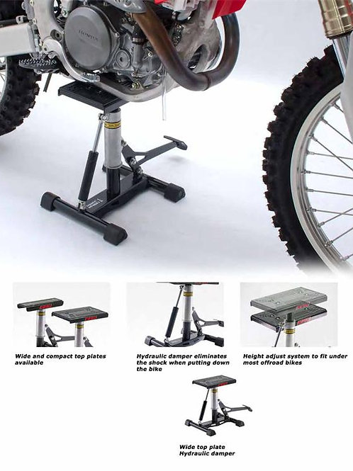 DRC A1164 Offroad Bike Lift Stand with damper