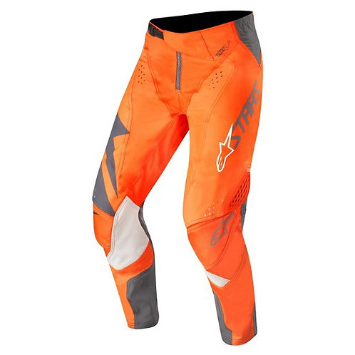 ALPINESTARS Techstar Factory Pants Anthracite/Orange Fluoro