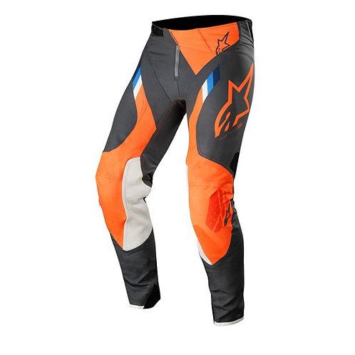 ALPINESTARS Supertech Pants Anthracite/Orange Fluoro