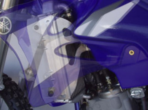 WORKS CONNECTION RADIATOR BRACE YZ125 02-17