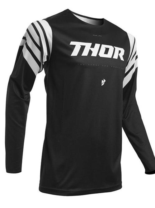 Thor Prime Pro S20 Strut Jersey Black White