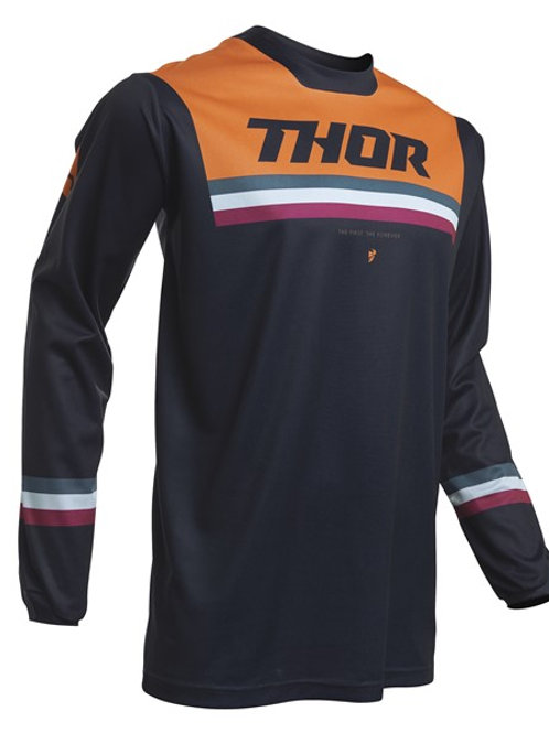 Thor Pulse S20 Pinner Jersey Midnight Orange
