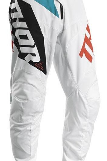 Thor Sector S20 Blade White Aqua MX Pants
