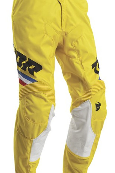 Thor Pulse S20 Pinner Yellow Black MX Pants