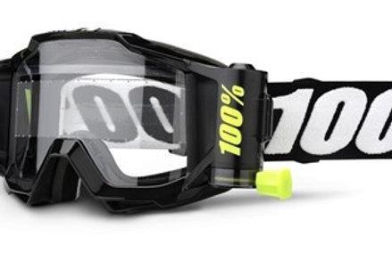 100% Accuri Forecast Moto Goggle Tornado - Clear Lens w/45mm Film System