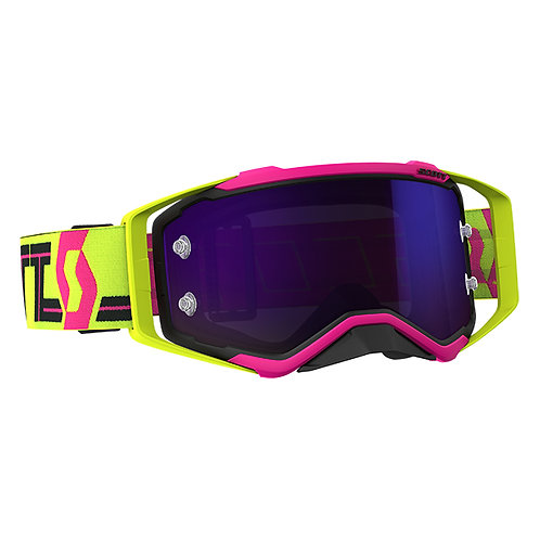 SCOTT Prospect Goggle Pink/Yellow Purple Chrome Works Lens