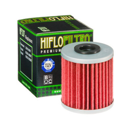 HIFLO FILTRO HF207 KAWASAKI KXF/SUZUKI RMZ OIL FILTER