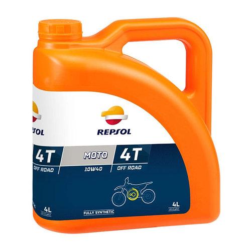 REPSOL 10W40 OFFROAD OIL 4 LITRE CONTAINER