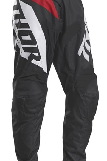 Thor Sector S20 Blade Charcoal Red MX Pants