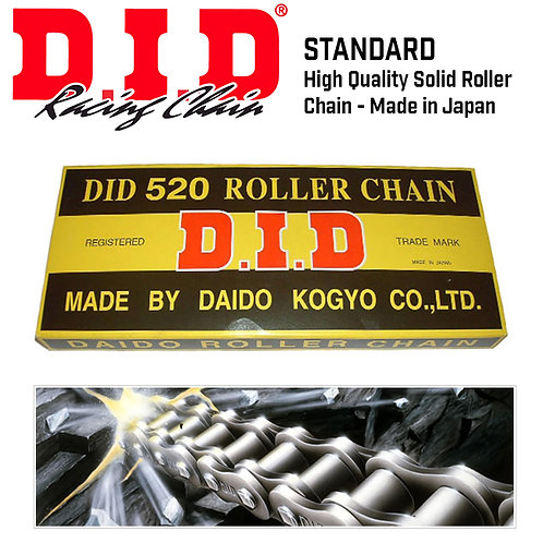 DID 520 Heavy Duty Standard Chain