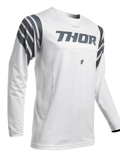 Thor Prime Pro S20 Strut Jersey White Slate