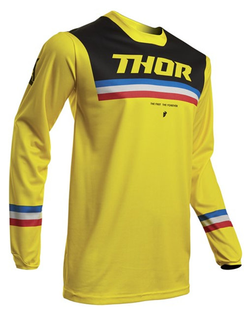 Thor Pulse S20 Pinner Jersey Yellow Black