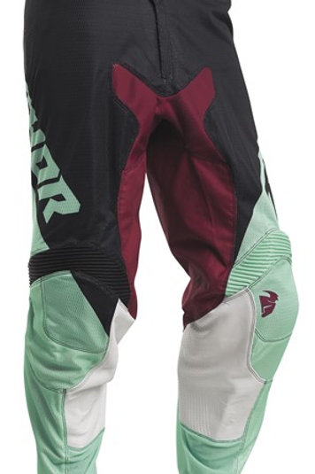 Thor Pulse S20 Air FULLY VENTED Black Mint MX Pants