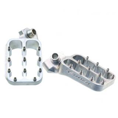 FASTWAY HONDA/KAWASAKI EVOLUTION 3 SILVER FOOTPEGS