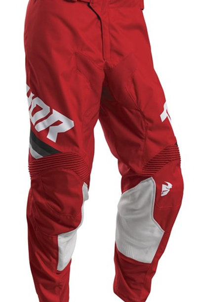 Thor Pulse S20 Pinner Red White MX Pants