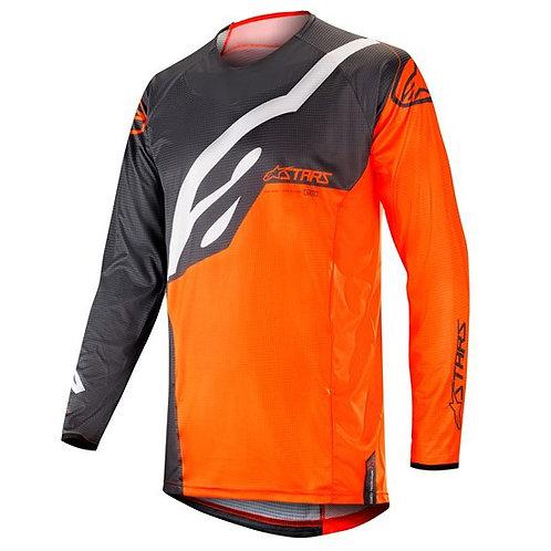 ALPINESTARS TECHSTAR Factory Jersey Anthracite/Orange Fluro