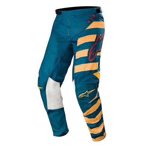 ALPINESTARS Racer Braap Pants Petrol/Tan/Maroon