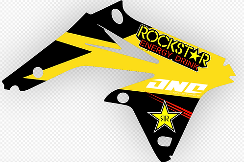 SUZUKI RM-Z250F 2008-2012 ROCKSTAR ENERGY DECALS