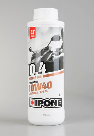 IPONE - 10.4 10W40 SEMI SYNTHETIC 4 Stroke Oil (1L)