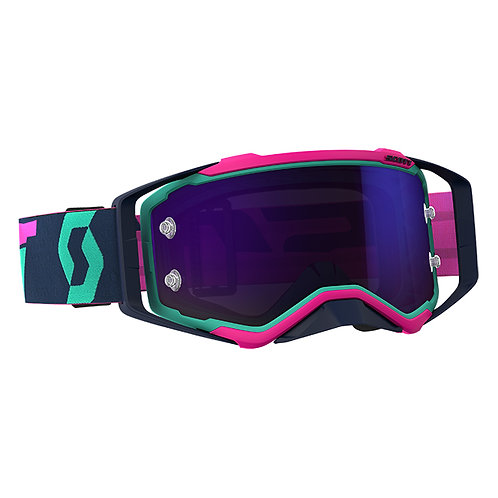 SCOTT Prospect Goggle Teal/Pink Purple Chrome Works Lens