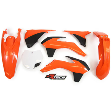 RACETECH KTM SX/SXF 125-450 13-14 OEM PLASTICS KIT
