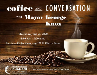 Monthly Coffees with our Mayor